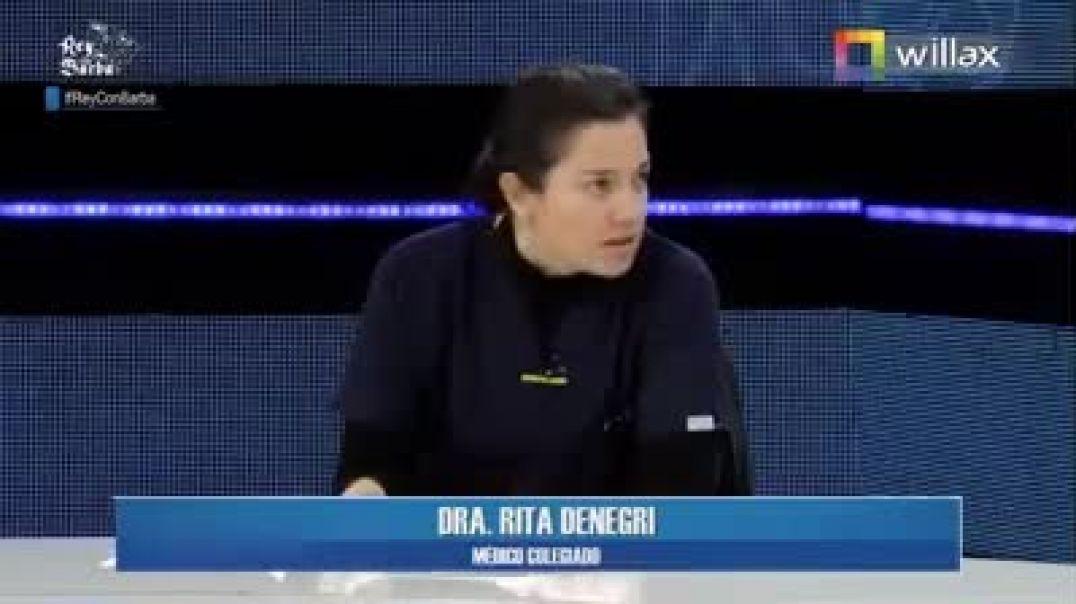 Dra. Rita Denegri en entrevista sobre el Dióxido de Cloro.