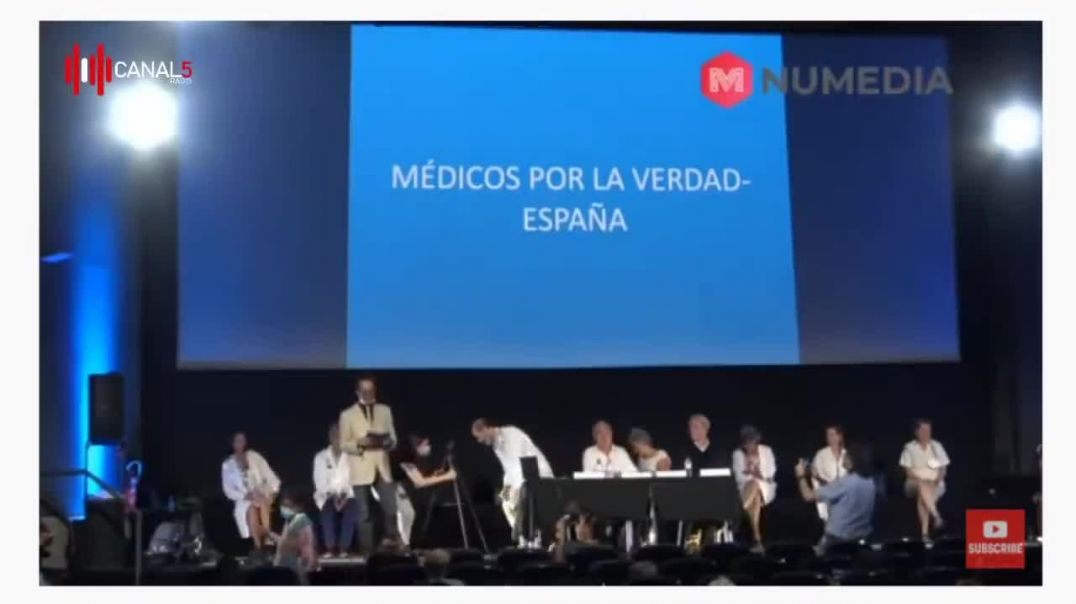 RUEDA DE PRENSA MÉDICOS POR LA VERDAD (CENSURADA EN YOUTUBE)