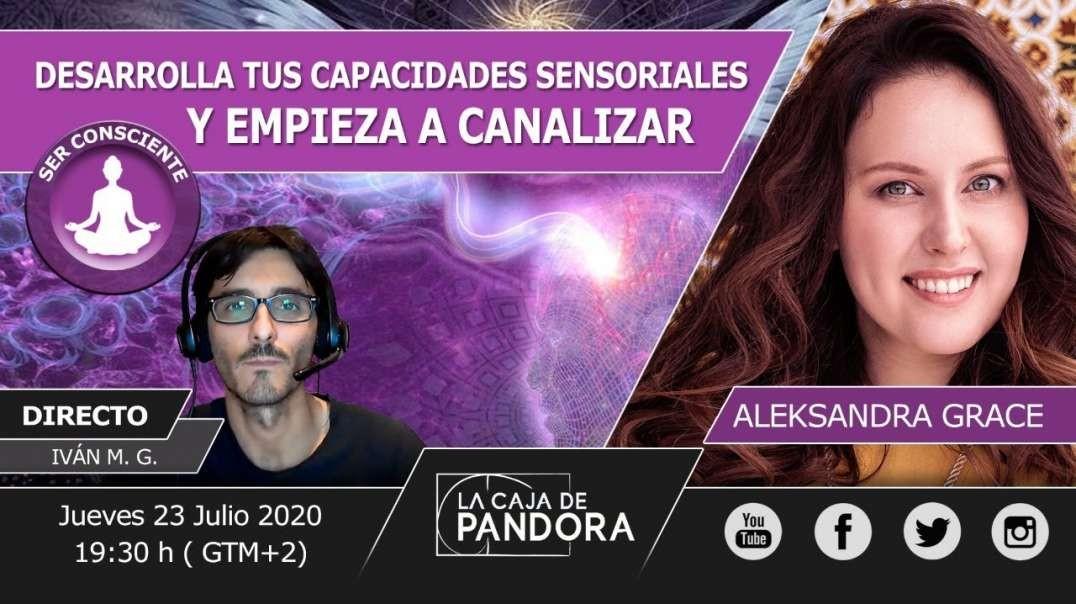Desarrolla tus capacidades Sensoriales Y EMPIEZA A CANALIZAR - Aleksandra Grace (720p_30fps_H264-128