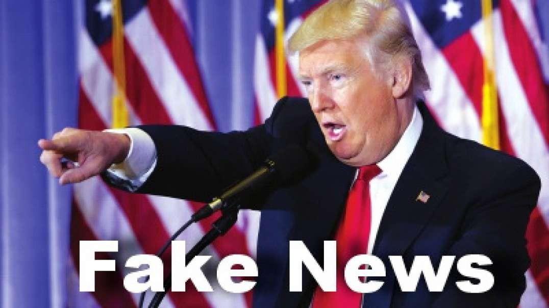 Trump pone en su lugar a los FAKE NEWS por trillonésima vez