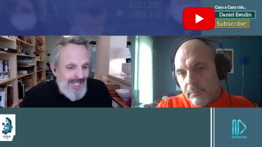 Daniel Estulin entrevista a Miguel Bose acerca de la Plandemia