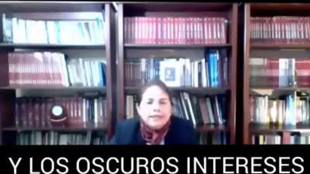 Beatriz Mejía desenmascara a la OMS