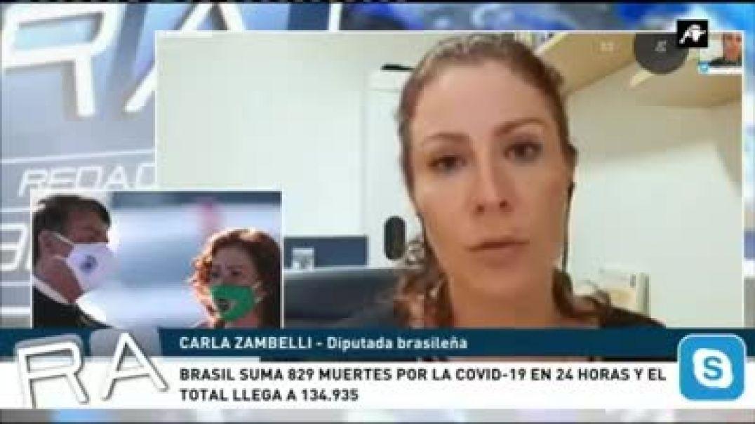 Cifras falsas en Brazil