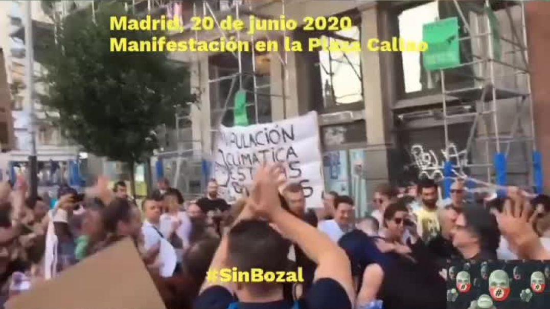 manifestación Madrid Junio 2020