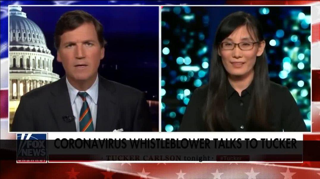 La viróloga huida Li-Meng Yan en Fox News.