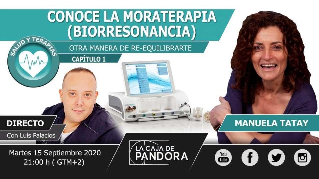 CONOCE LA MORATERAPIA (BIORRESONANCIA)……OTRA MANERA DE RE-EQUILIBRARTE con Manuela Tatay