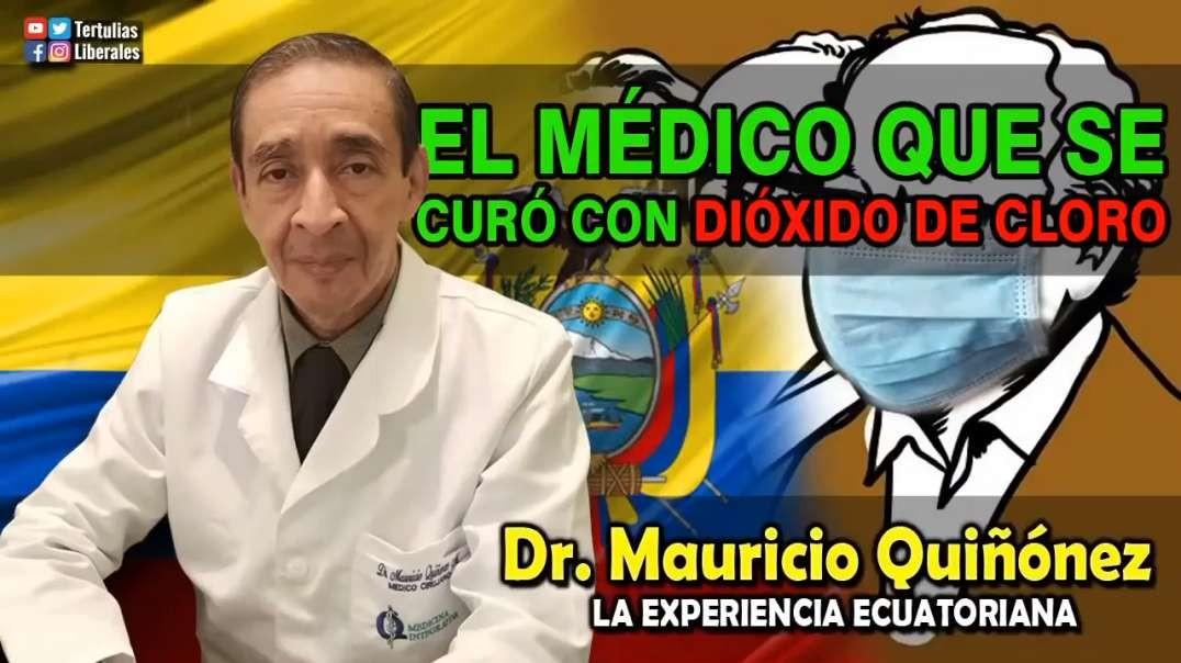 D004. Ecuador. Dr. Mauricio Quiñonez nos cuenta como el CDS lo salvo de la muerte. Parte 1/2.