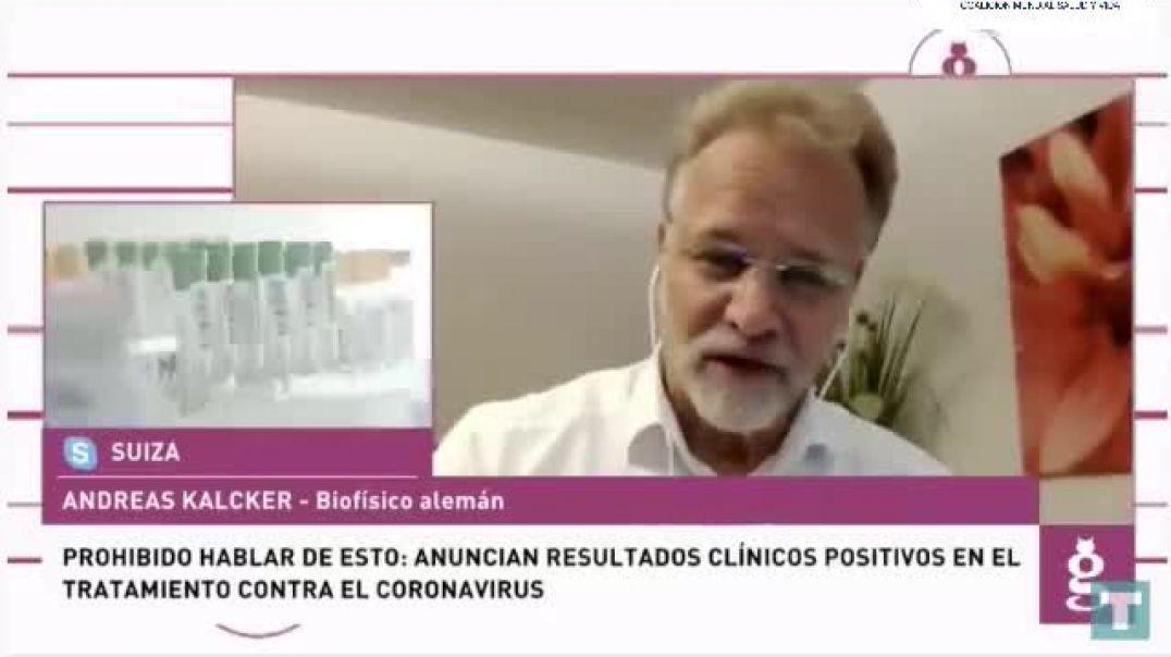 Andreas Kalcker en el Toro TV 23-10-2020