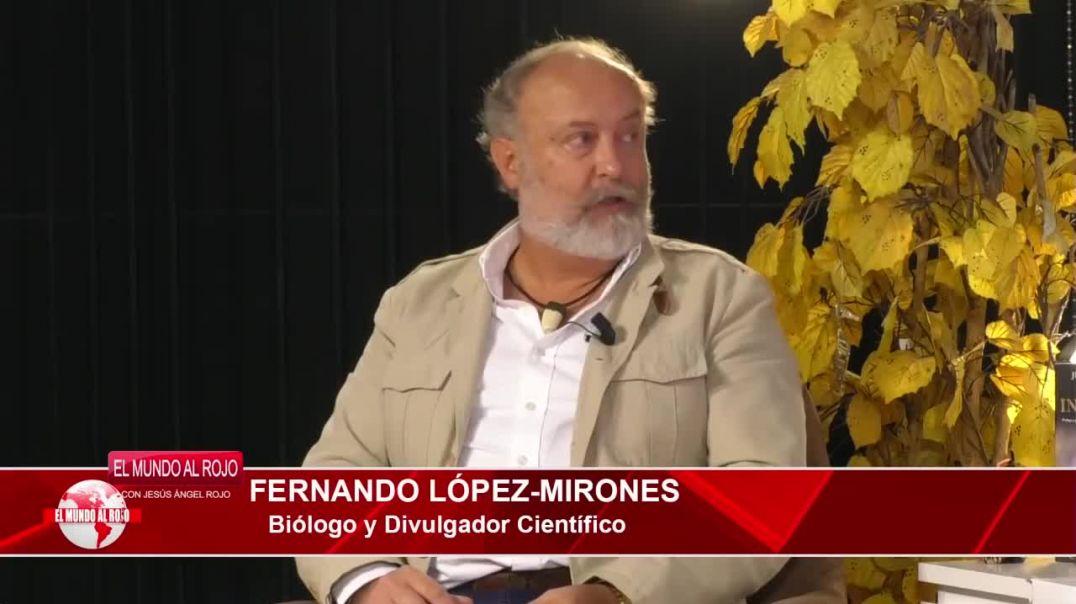 Biólogo  Fernando López-Mirones: La OMS afirma que los PCR no sirven para diagnosticar Covid19.