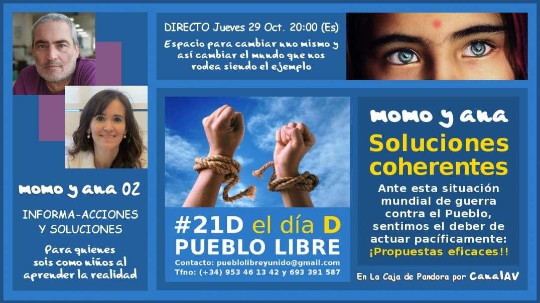 momo y ana 02 · NOTICIAS D LA REALIDAD · SOLUCIONES COHERENTES ¡Propuestas..!!
