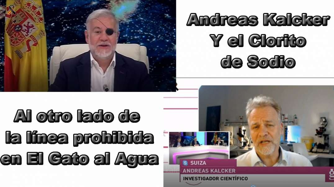 El Gato Al Agua. Entrevista a Andreas kalcker.