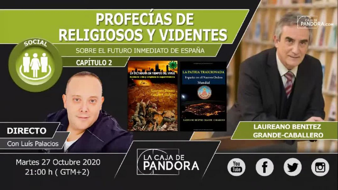 PROFECÍAS DE RELIGIOSOS Y VIDENTES SOBRE EL FUTURO INMEDIATO DE ESPAÑA Laureano J