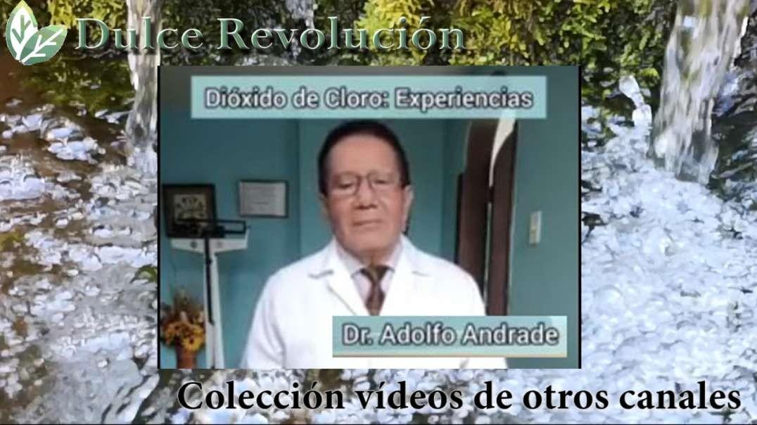 Dr. Adolfo Arcade, experiencias con el  dioxido de cloro.