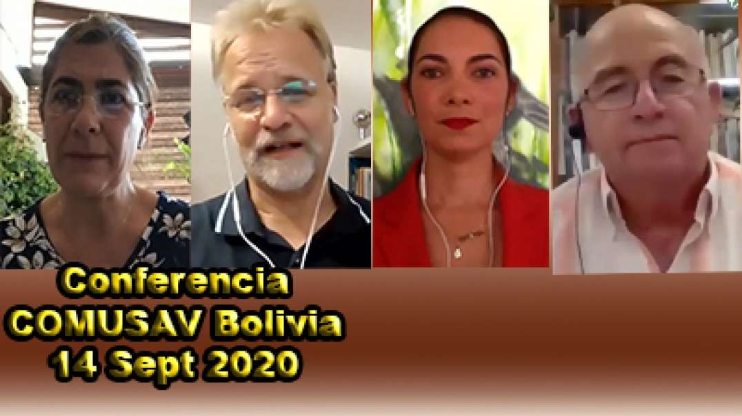 Conferencia COMUSAV Bolivia 14 Sept 2020.