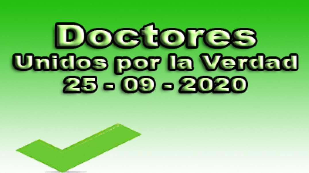 Doctores unidos por la verdad, 25-09-2020