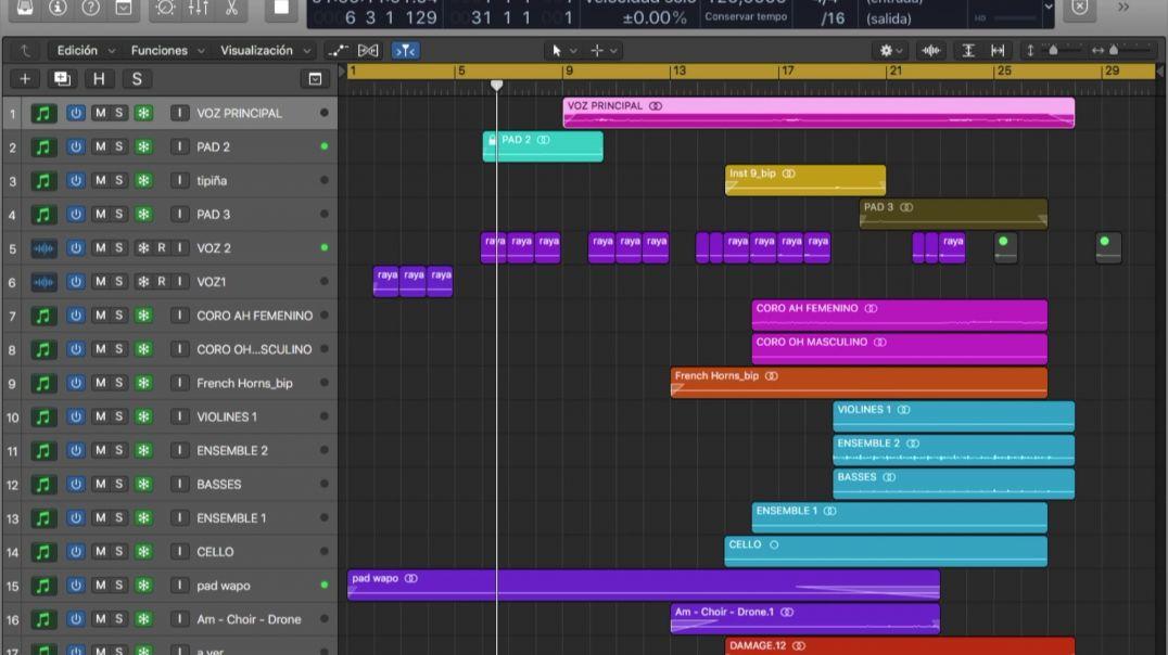 Probando librerías de kontakt en Logic Pro X - Filmscoring - Producción musical