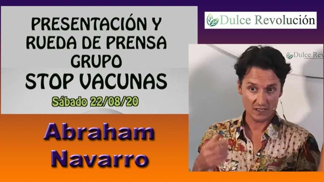Stop Vacunas - Presentación + Abraham Navarro, lectura manifiesto (01 de 07)
