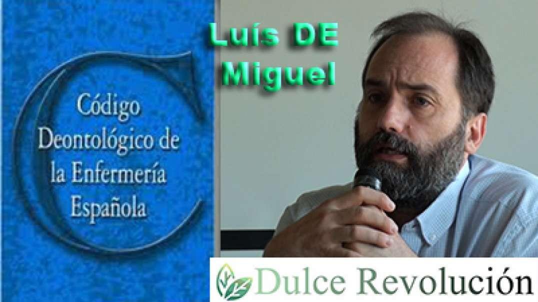 Código deontológico de la enfermería española con Luis de Miguel.