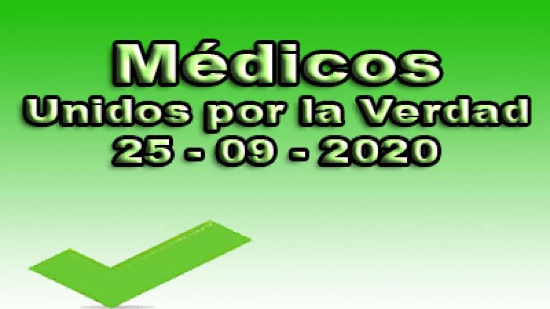Médicos unidos por la verdad, 25-09-2020