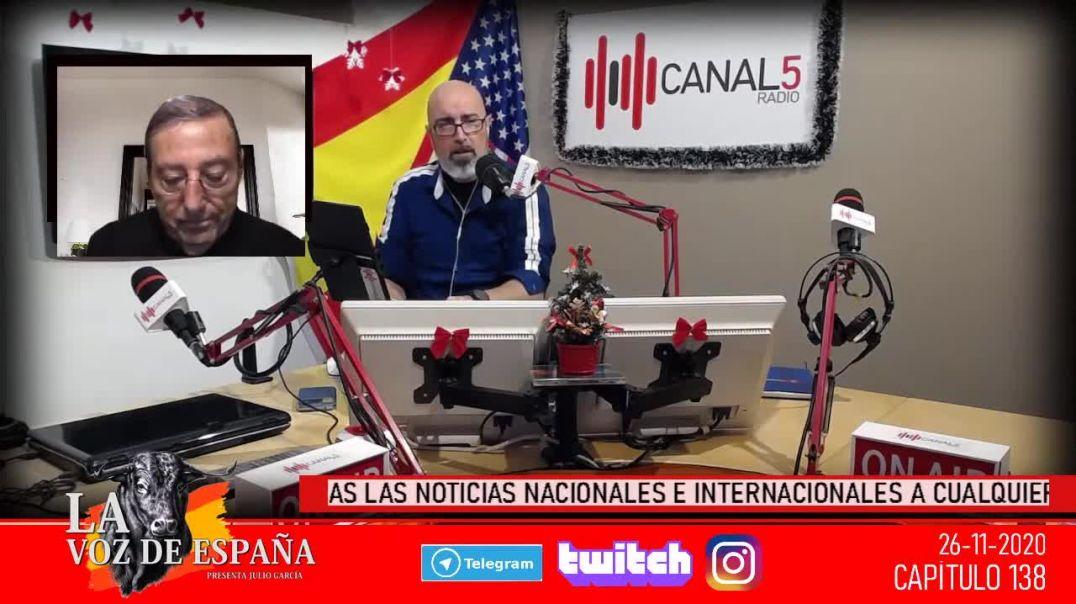 Antonio López en Canal 5 Radio:  el rey Felipe dentro del Plan de la Alianza