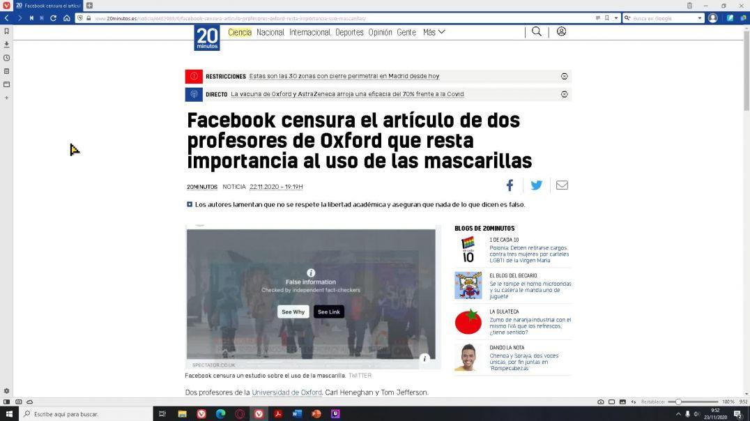 La censura de Facebook llega a límites ridículos
