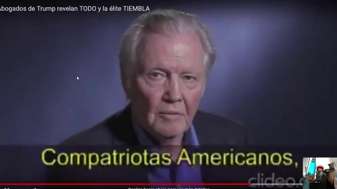Jon Voight habla de la guerra de Satán contra USA