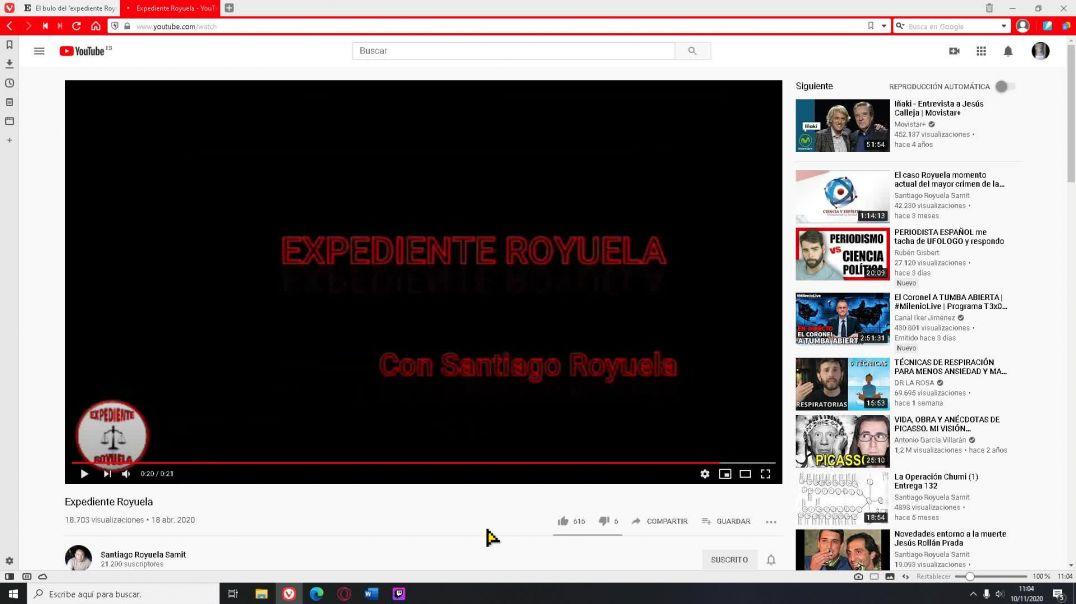 Los medios oficiales empiezan a desinformar sobre el Expediente Royuela