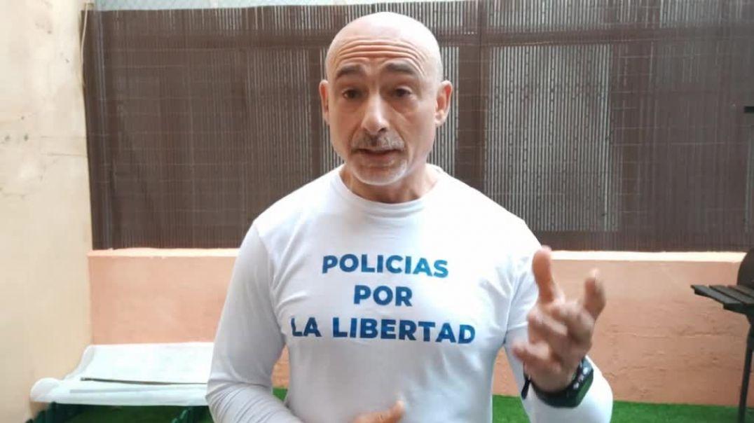 Policías por la libertad NO A LA DICTADURA.