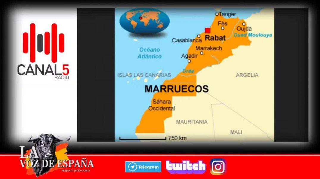 Efrén acerca de la Invasión de Marruecos, en LA VOZ DE ESPAÑA el 26/11/2020