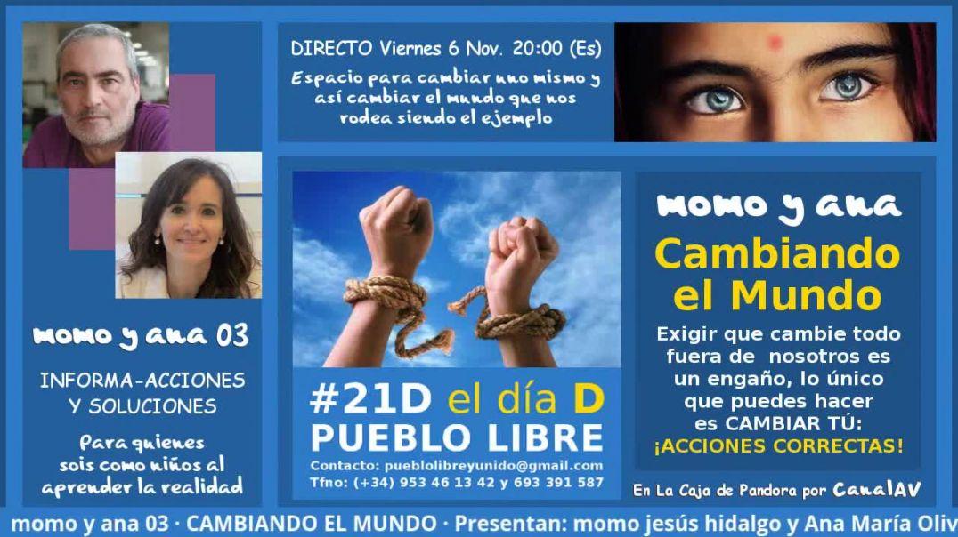 momo y ana 03 · CAMBIANDO EL MUNDO: ¡ACCIONES CORRECTAS!