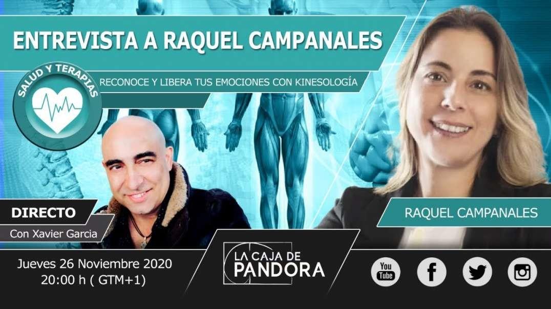 Entrevista a Raquel Camapanales - RECONOCE Y LIBERA TUS EMOCIONES CON KINESOLOGÍA