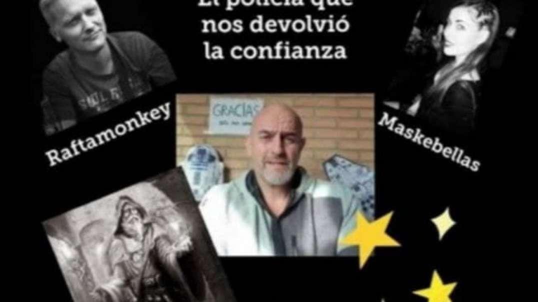 DIRECTO CON RAFA EL POLICIA QUE NOS DEVOLVIO LA CONFIANZA - MASKEBELLAS - LA SENDA DEL MAGO -(720P_H