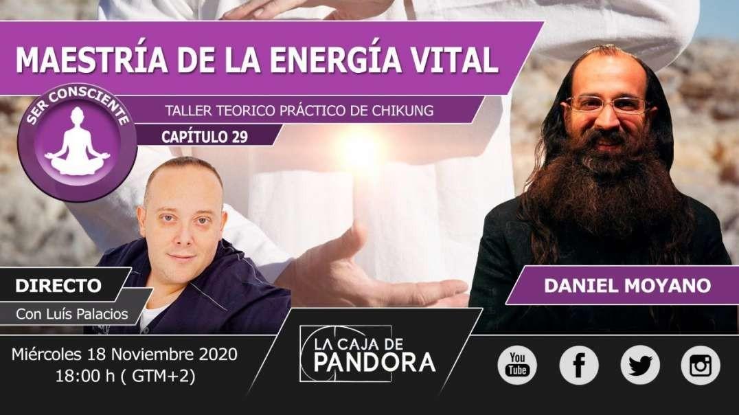 MAESTRÍA DE LA ENERGÍA VITAL - TALLER PRÁCTICO DE CHIKUNG con Daniel Moyano (1080p_30fps_H264-128kbi