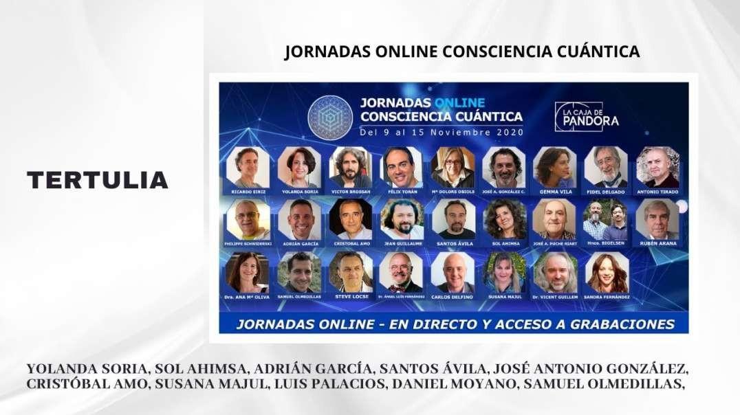 TERTULIA - Yolanda S., Sol A., Adrián G., Santos Á., José A. G., Cristóbal A., Daniel M, Samuel O.