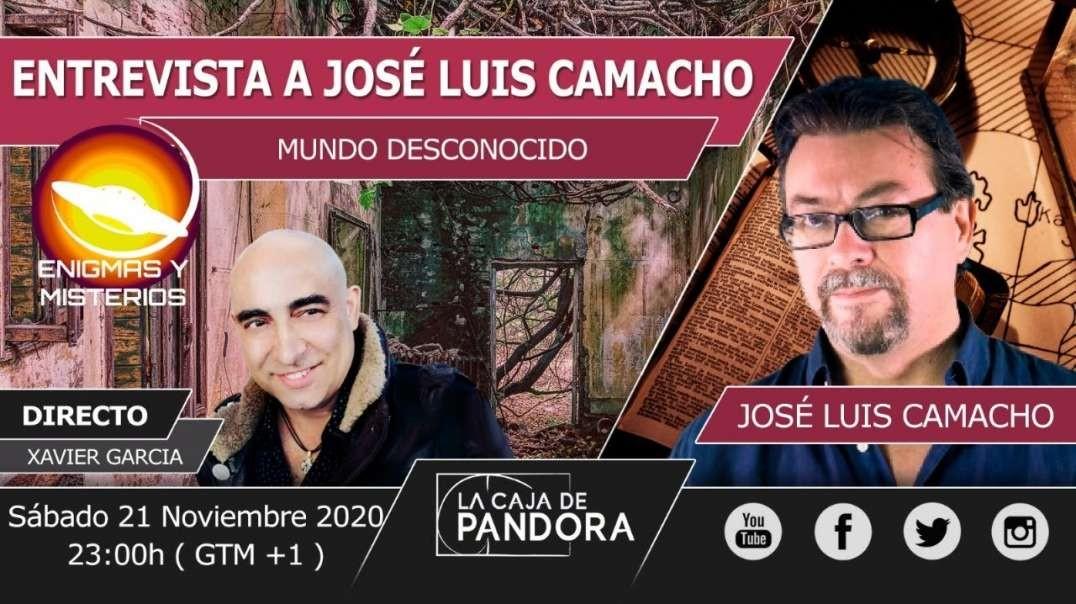 ENTREVISTA A JOSÉ LUIS CAMACHO DE MUNDO DESCONOCIDO