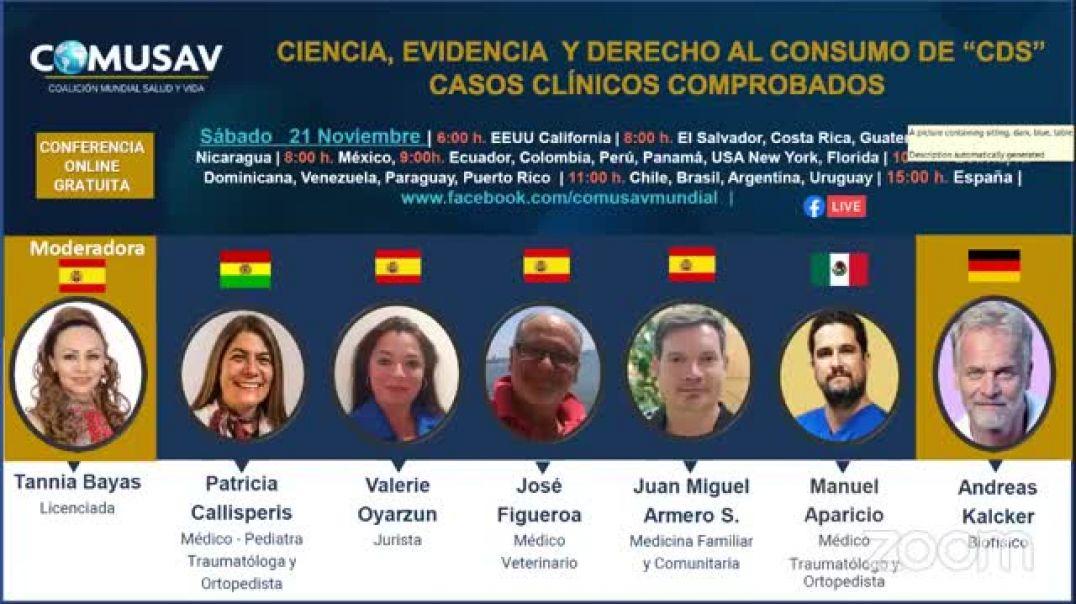 Conferencia COMUSAV, especial edición España (21-nov). BRUTAL !!!!