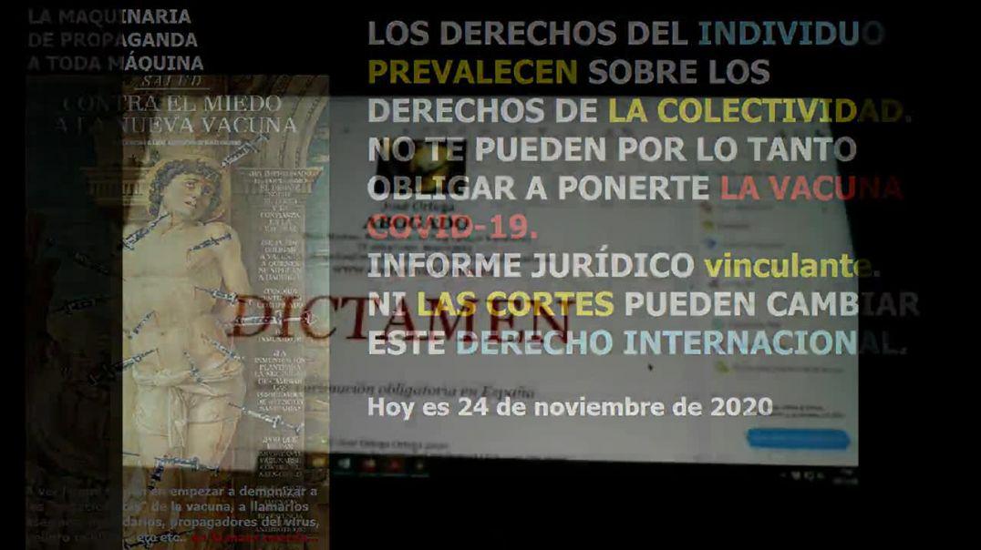 INFORME JURIDICO NO A LA VACUNA COVID 19