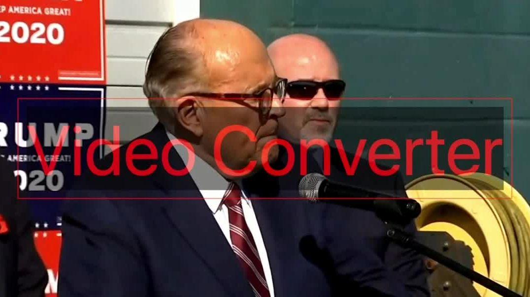 Rudy Giuliani: El resultado de las elecciones no lo deciden los medios...