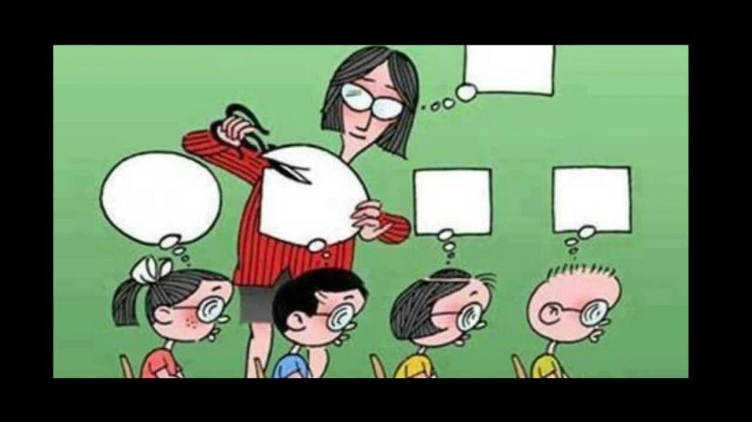 """La """"educación"""" con mascarilla, pero sin máscaras"""
