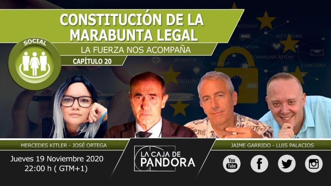 Constitución de La Marabunta Legal. La Fuerza nos Acompaña. José Ortega, Jaime Garrido, Mercedes