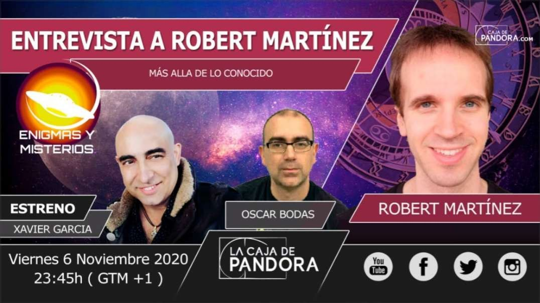 ENIGMAS Y MISTERIO: ROBERT MARTÍNEZ - ASTRÓLOGO)