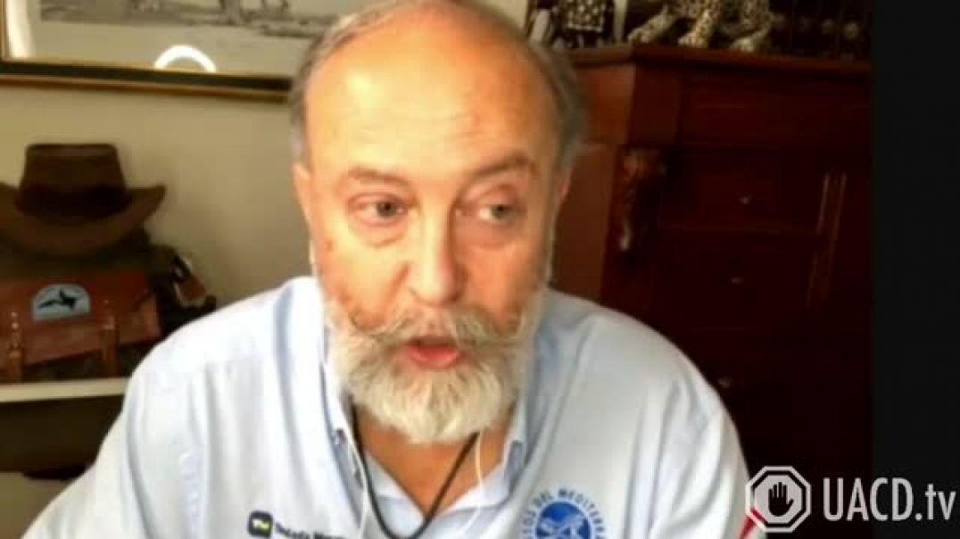 Biólogo y divulgador científico Fernando López Mirones denuncia el genocidio inminente.