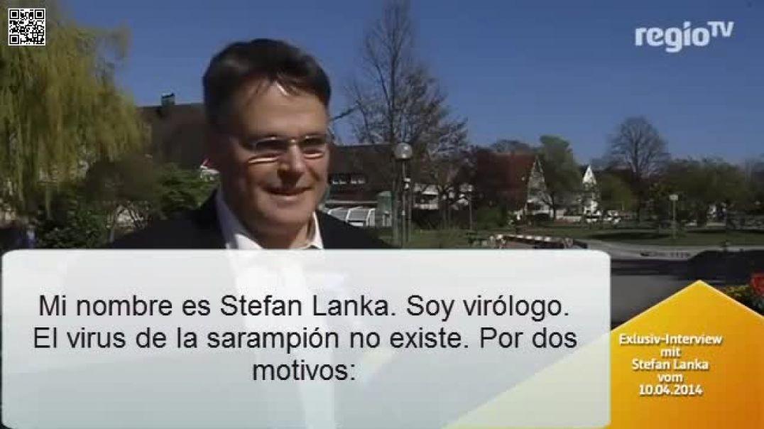 1 Stefan Lanka - Virus del sarampión no existe - Parte 1