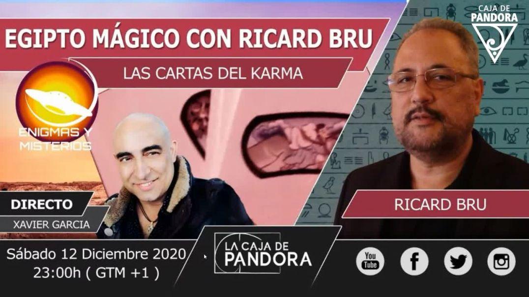 XAVIER GARCIA Entrevista a Ricard Bru - CARTAS DEL KARMA (2)
