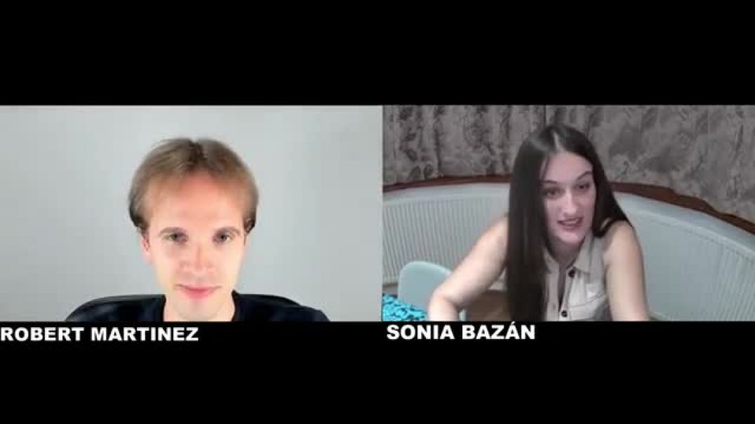 SONIA BAZÁN entrevista a ROBERT MARTINEZ el 25 de noviembre de 2020