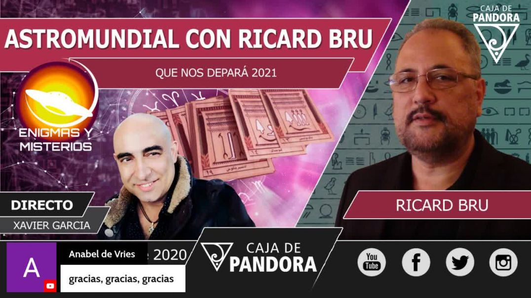 XAVIER GARCIA y RICARD BRU - ASTROMUNDIAL  2021