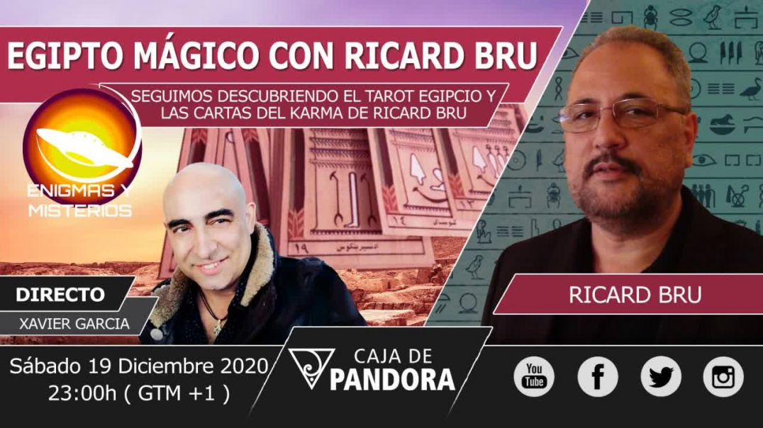 XAVIER GARCIA Entrevista a Ricard Bru - CARTAS DEL KARMA