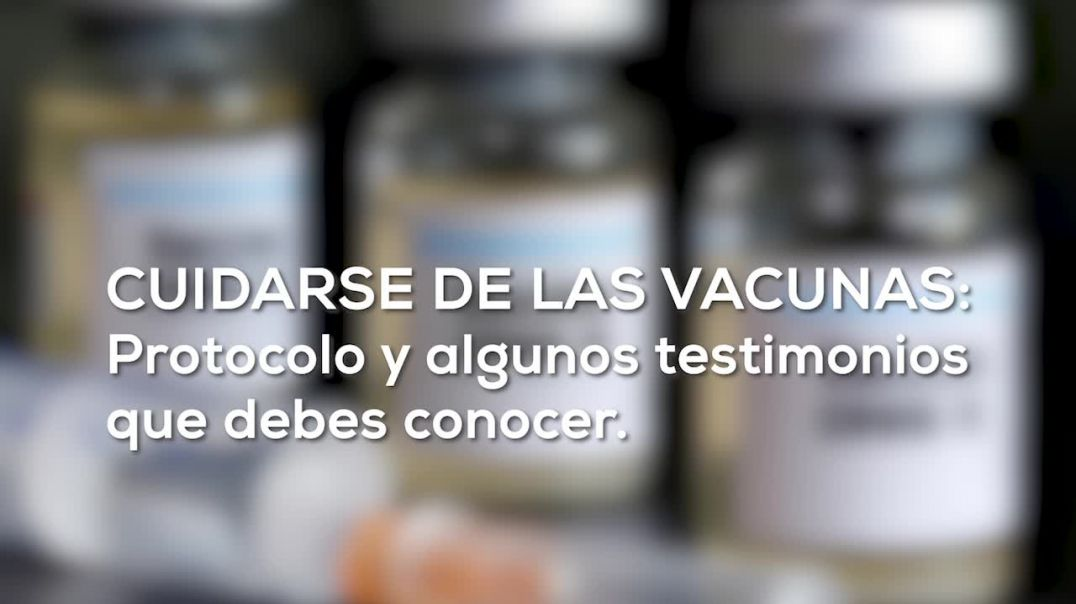 Protocolo CDS contra las vacunas, como tomar el Dioxido de cloro.