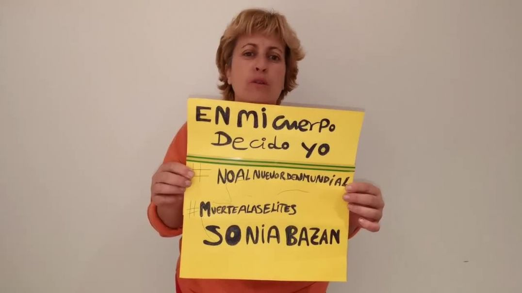#YoNoMeVacuno #EnMiCuerpoDecidoYo Sonia Bazán