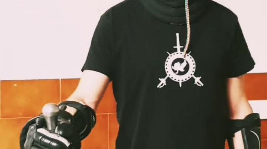 Video AR en el logotipo de asociación cultural de esgrima